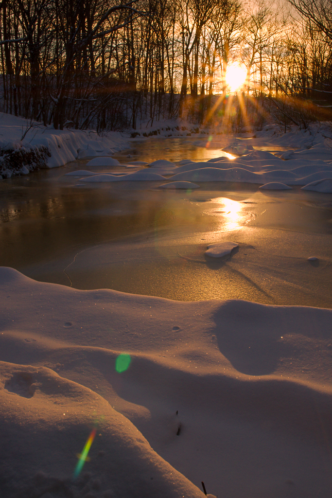 Frozen Sunrise, Mississauga ON 2015